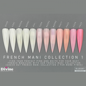 Bluesky French manicure Collection By Divine