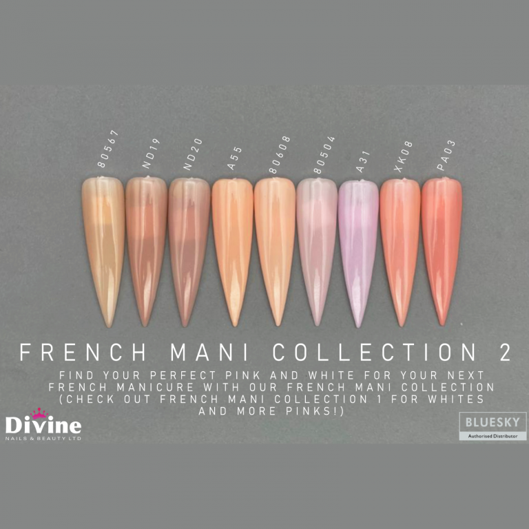 Bluesky French manicure Collection By Divine - Divine