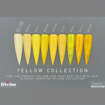 Bluesky Sunshine yellow collection by divine