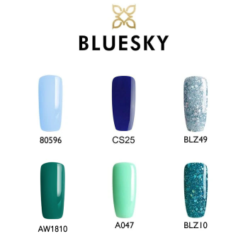 bluesky blue/green gift set 2