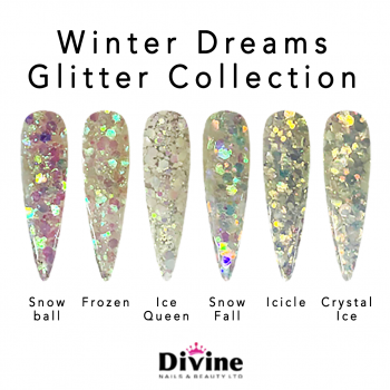 Winter Dreams – Chunky Glitter sequins