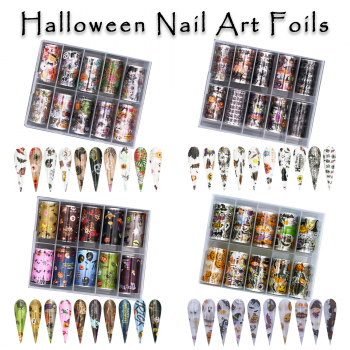 Nail Art Transfer Foil Halloween Collection